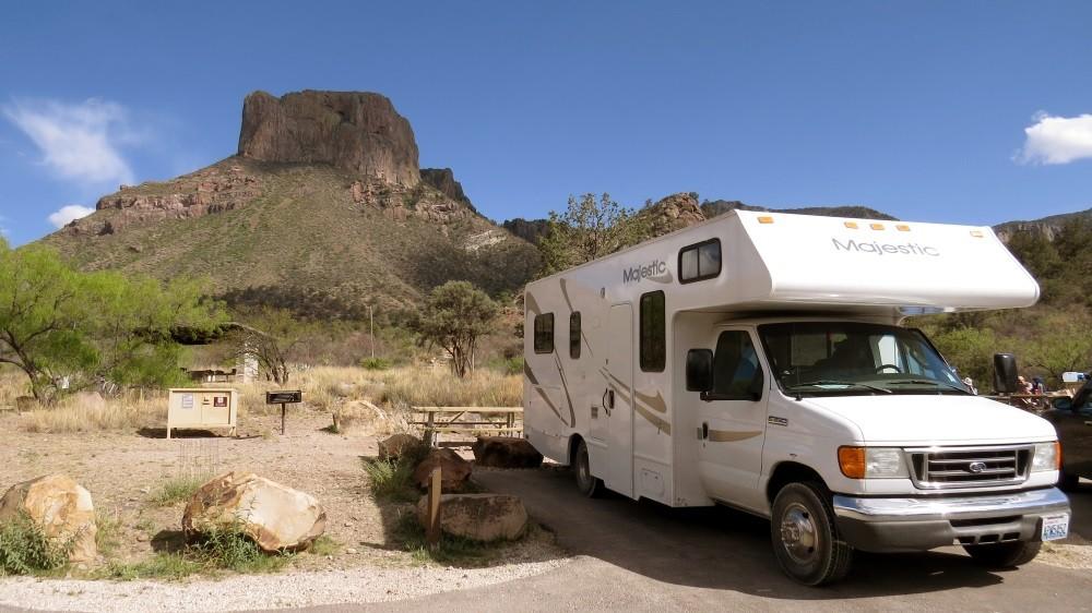 Chisos Basin Camping