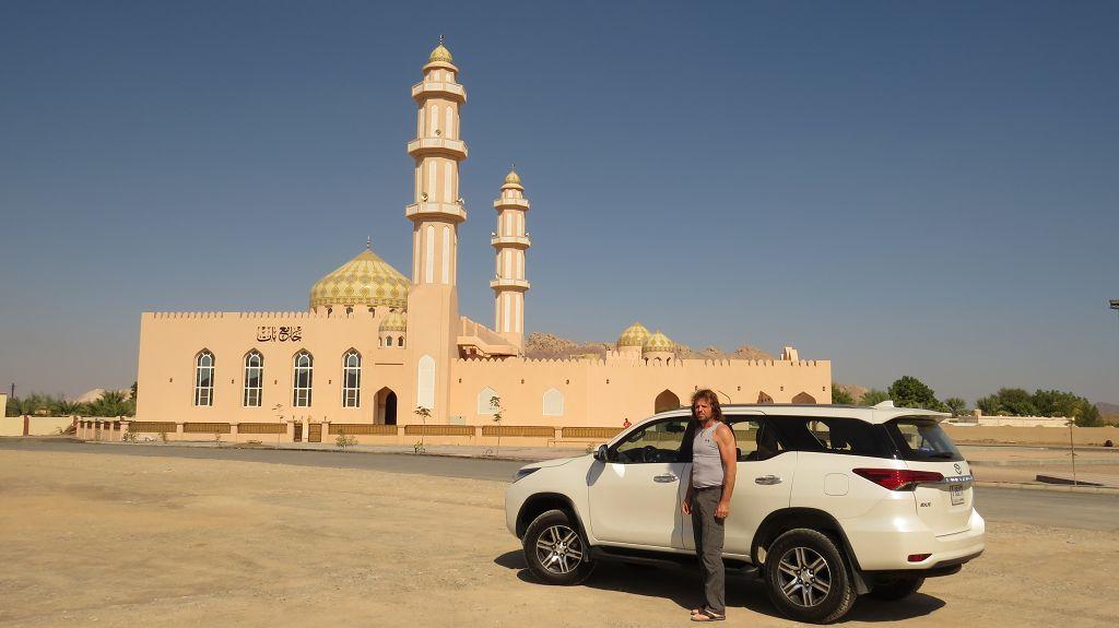 ...zur Moschee...
