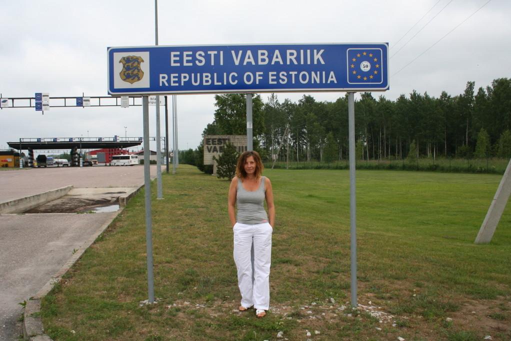 In Estland angekommen