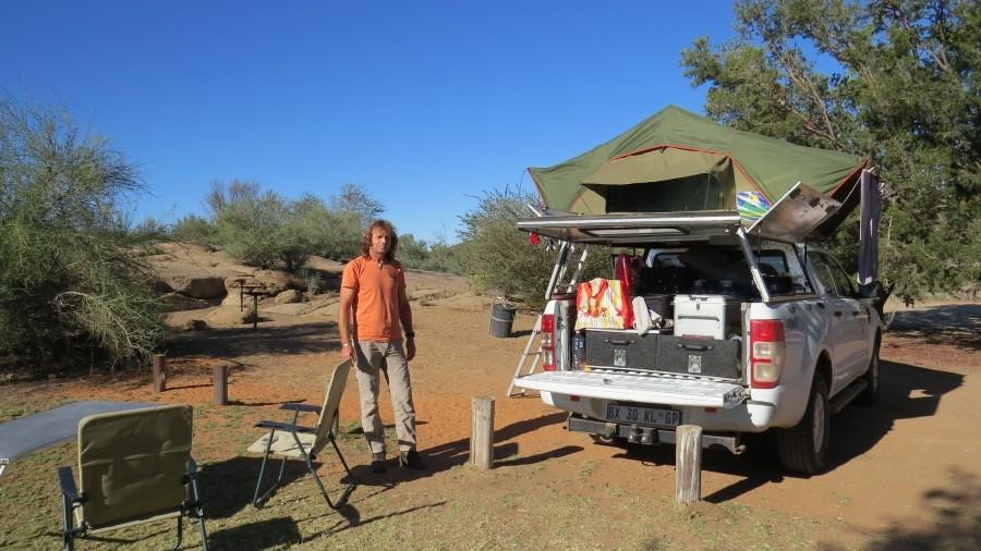 Camping bei den Augrabies Falls