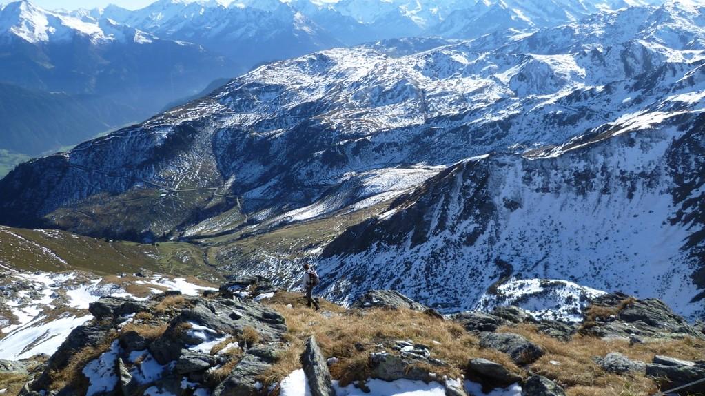 Blick vom Wimbachkopf
