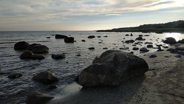 Übernachtung am Strand von Ringenäs
