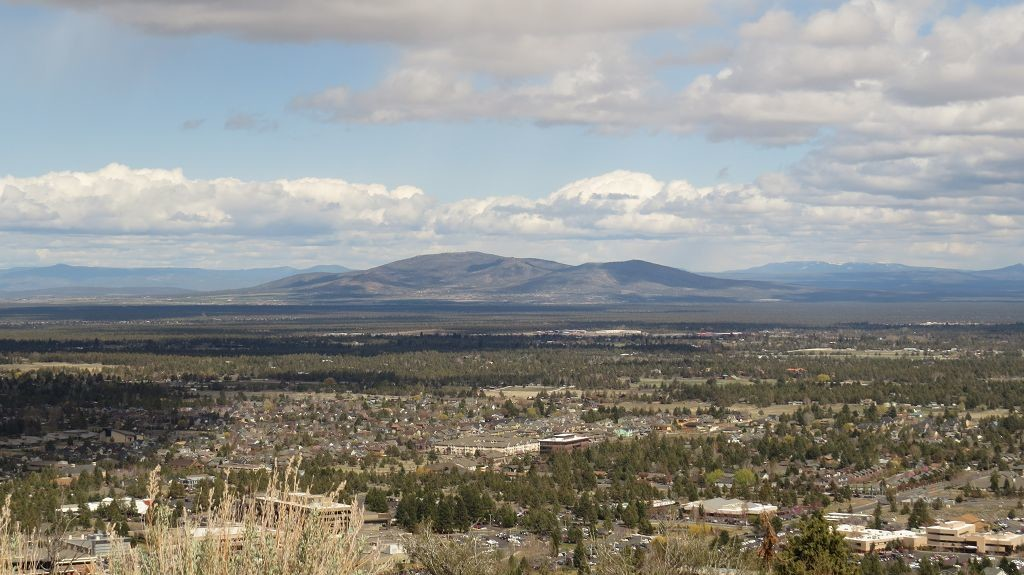 Blick vom Pilote Butte...