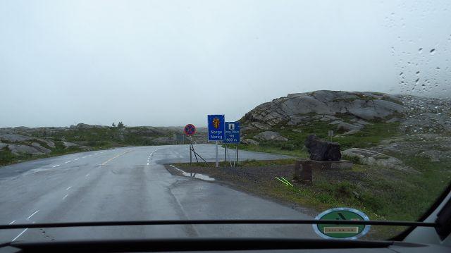 Grenze zu Norwegen