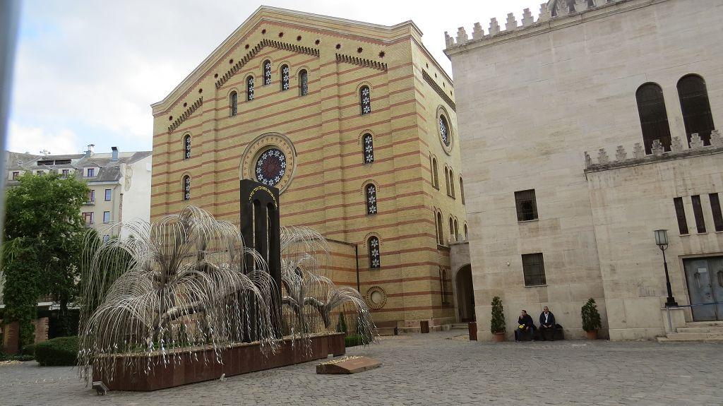 Synagoge, Jüdisches Museum und Baum des Lebens