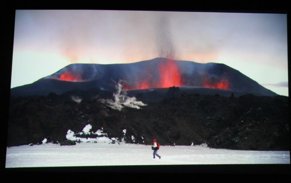 In der Volcano-Show