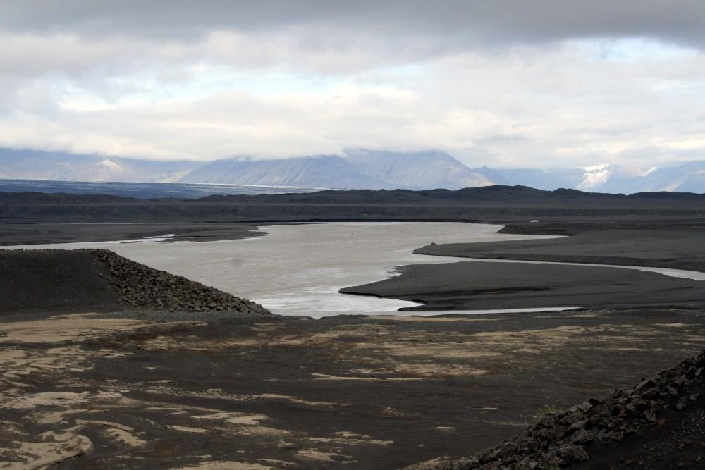 Sanderfläche des Vatnajökull