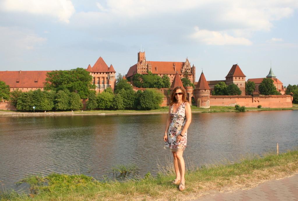 Blick zur Marienburg