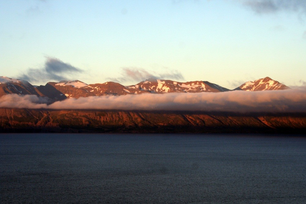 Blick über den Eyjafjord