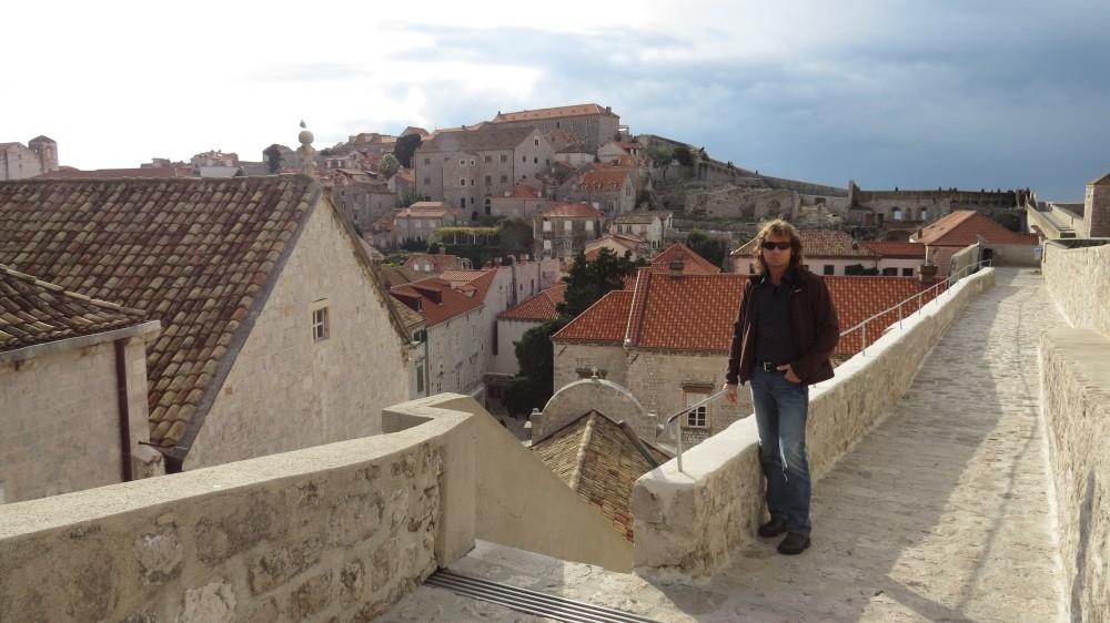 Umrundung der Stadtmauer