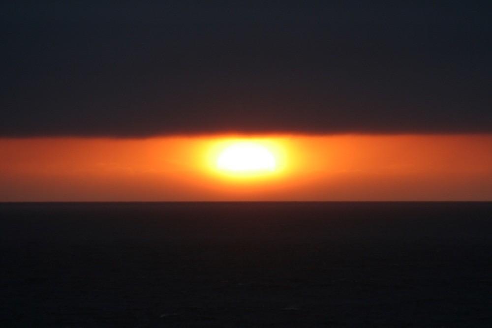 der westlichste Sonnenuntergang Europas