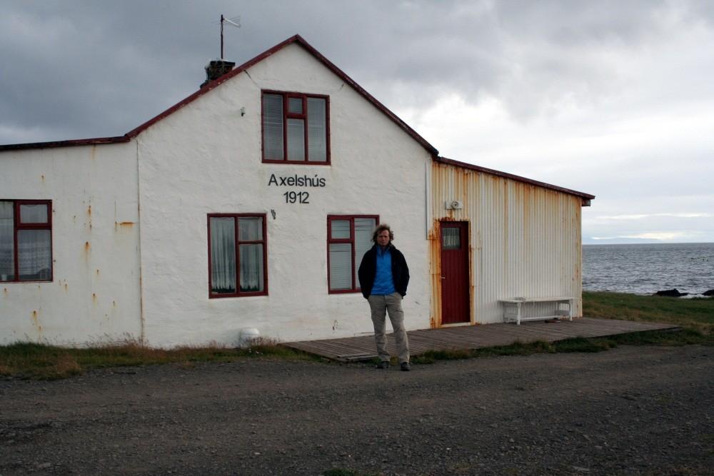 Axelshus in Gjögur