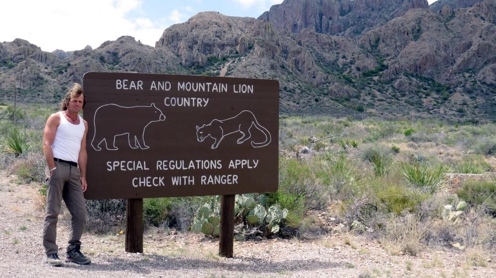 Wanderung auf dem Lost Mine Trail