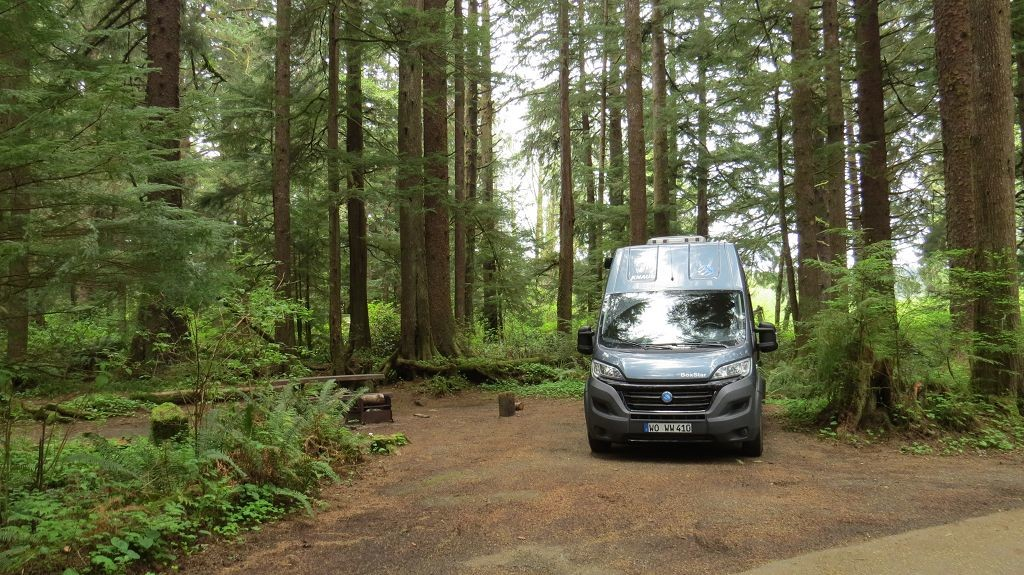 Unser Camping im Rain Forest