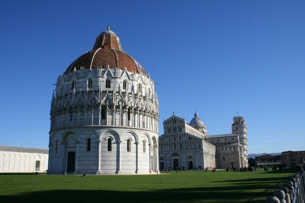 Ein klasse Tag in Pisa