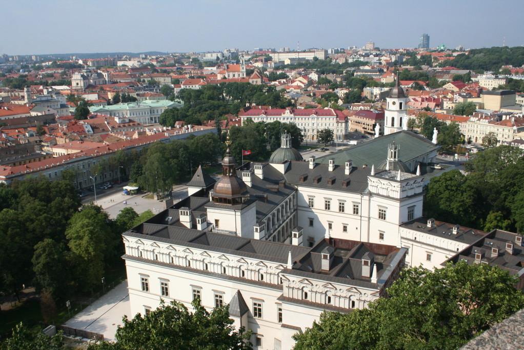 ...auf Vilnius