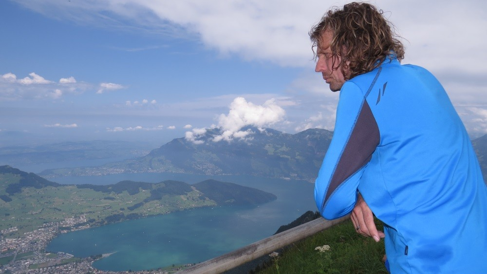 Geschafft !  1.372 Meter Anstieg