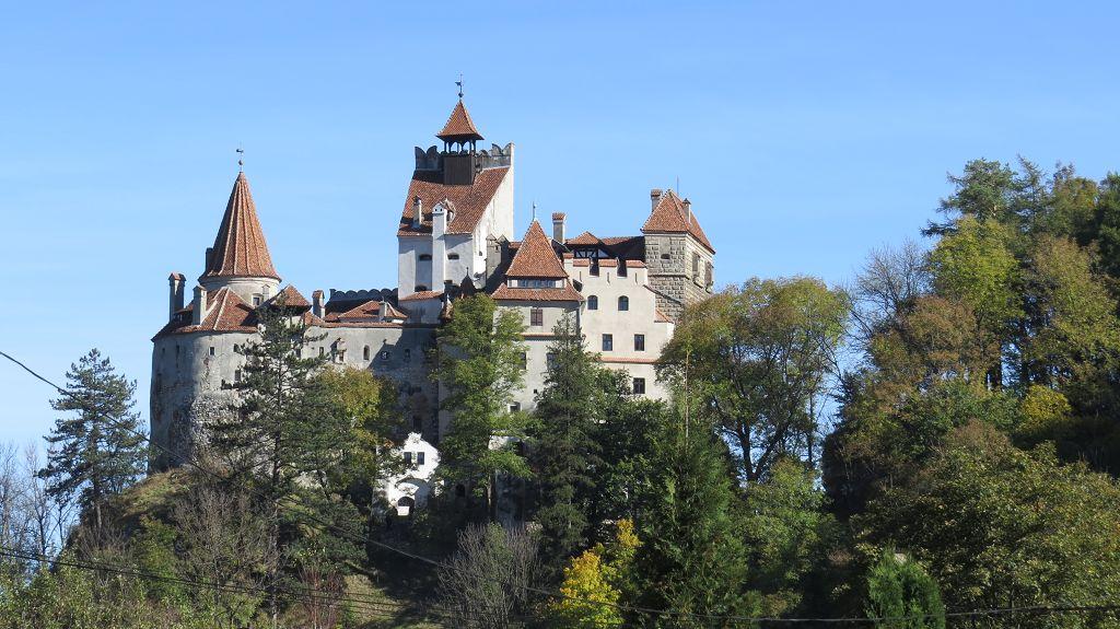 Wir erreichen die Burg Bran