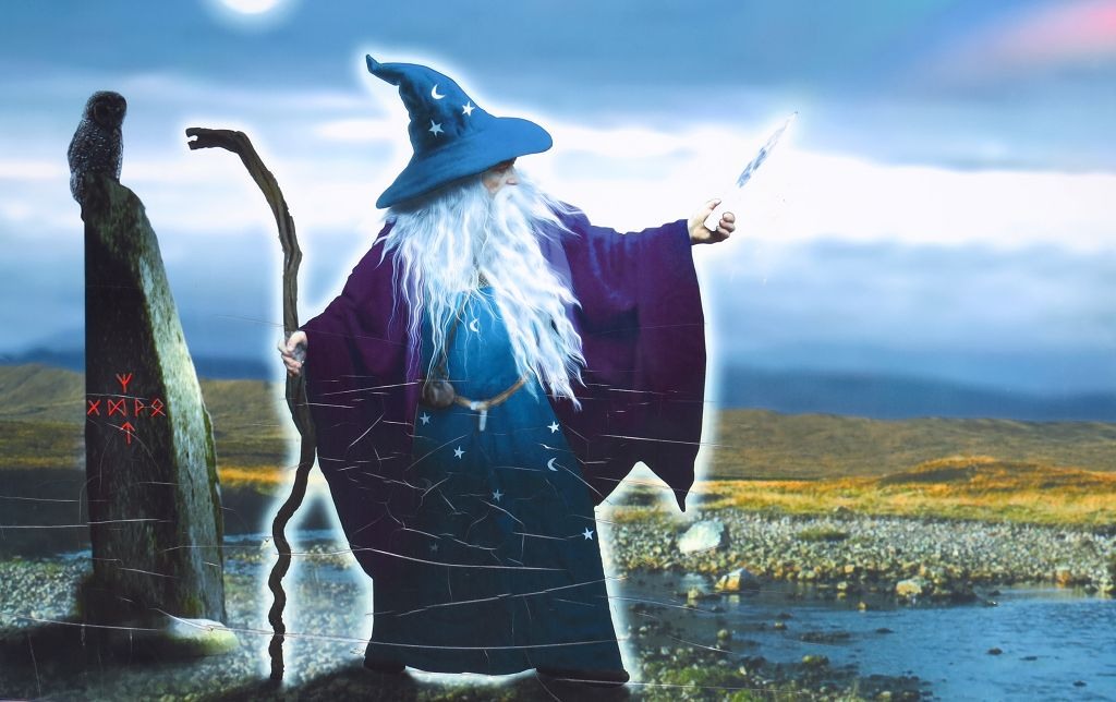 Merlin den Zauberer
