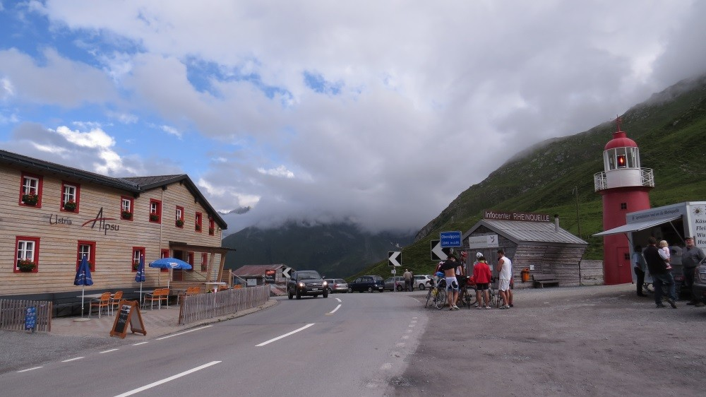 Oberalppass auf 2.048 m