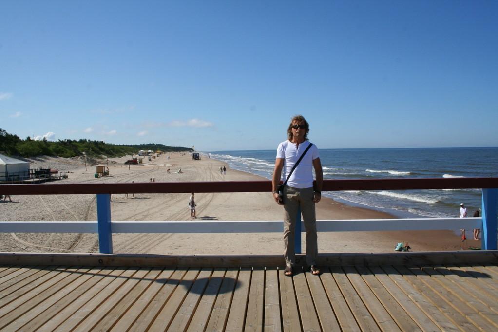 Auf der Seebrücke in Palanga