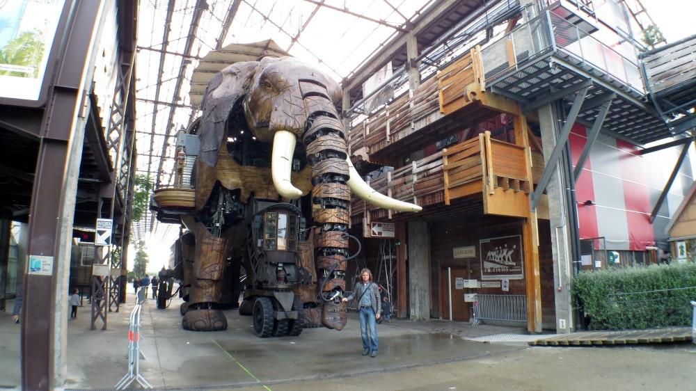 Machines d'Île, der 12 Meter hohe Elefant