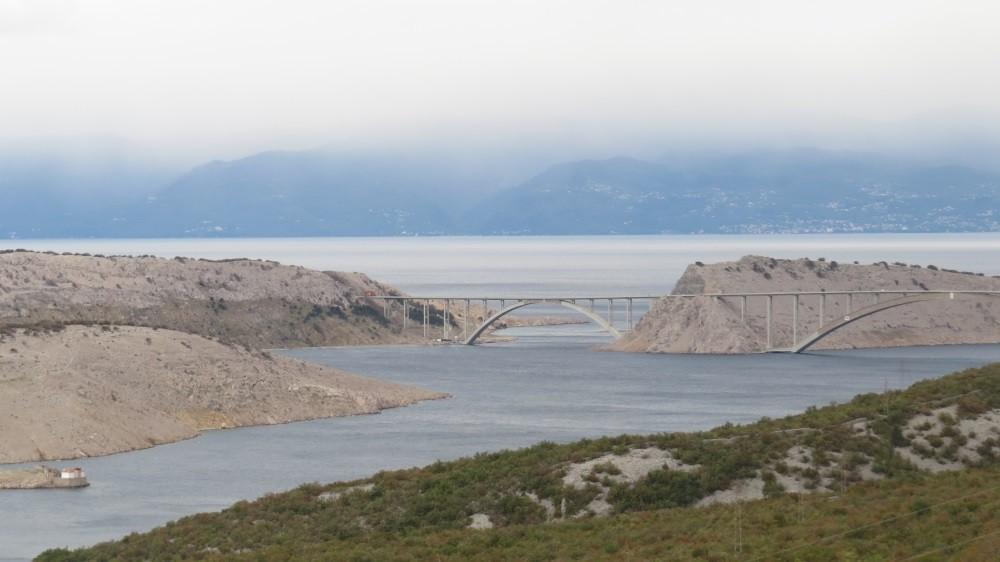 Die Brücke auf die Insel Krk