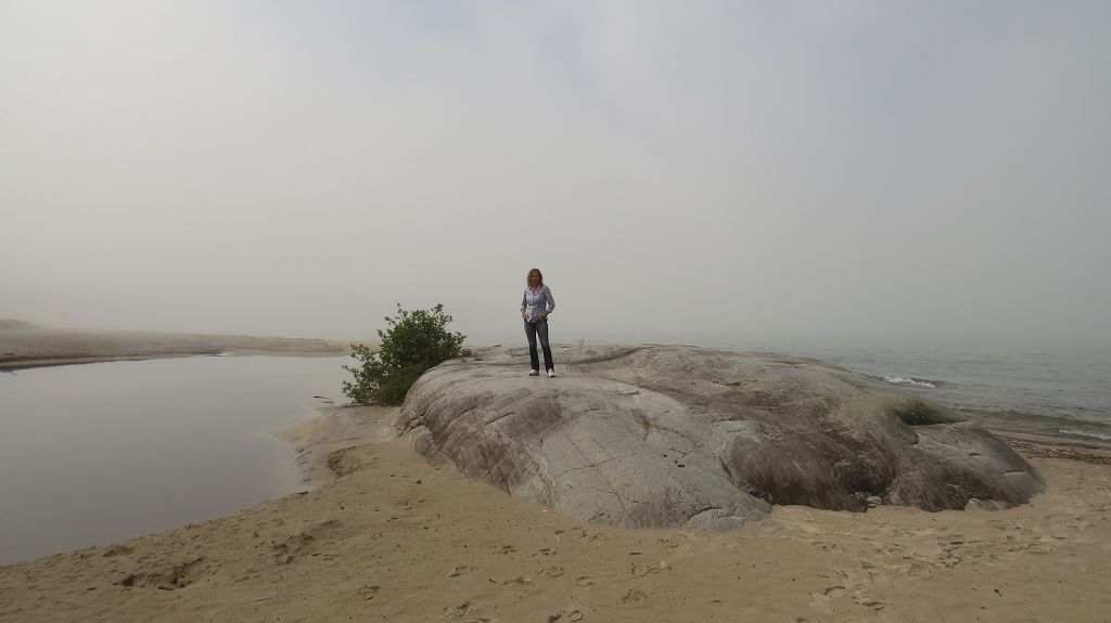 Nebel über dem Lake Superior