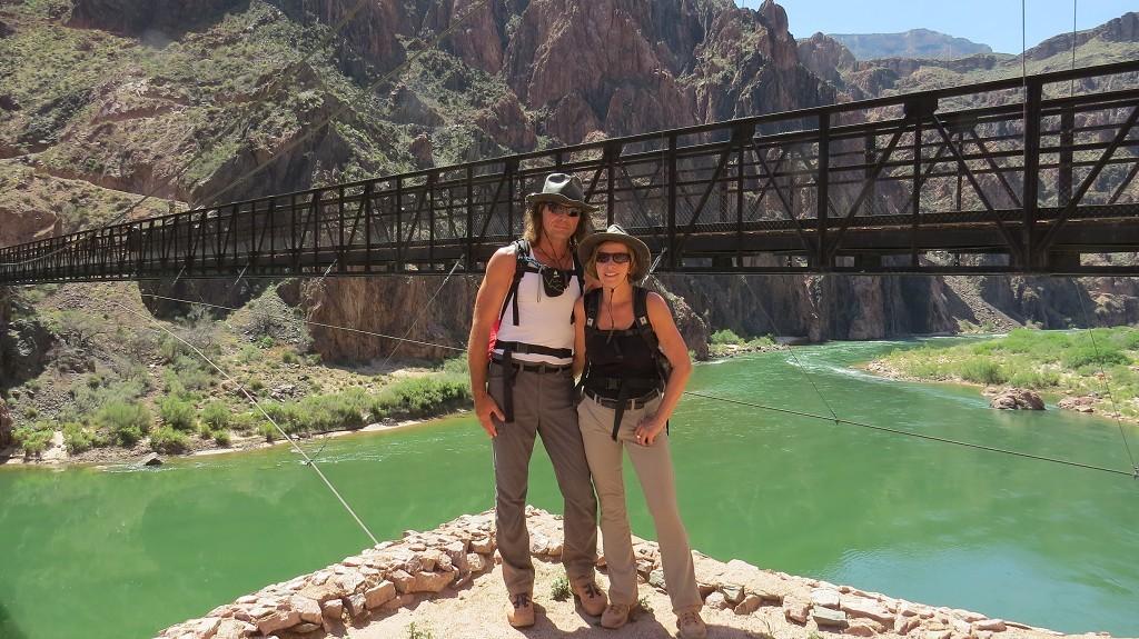 Wir haben den Colorado-River erreicht.