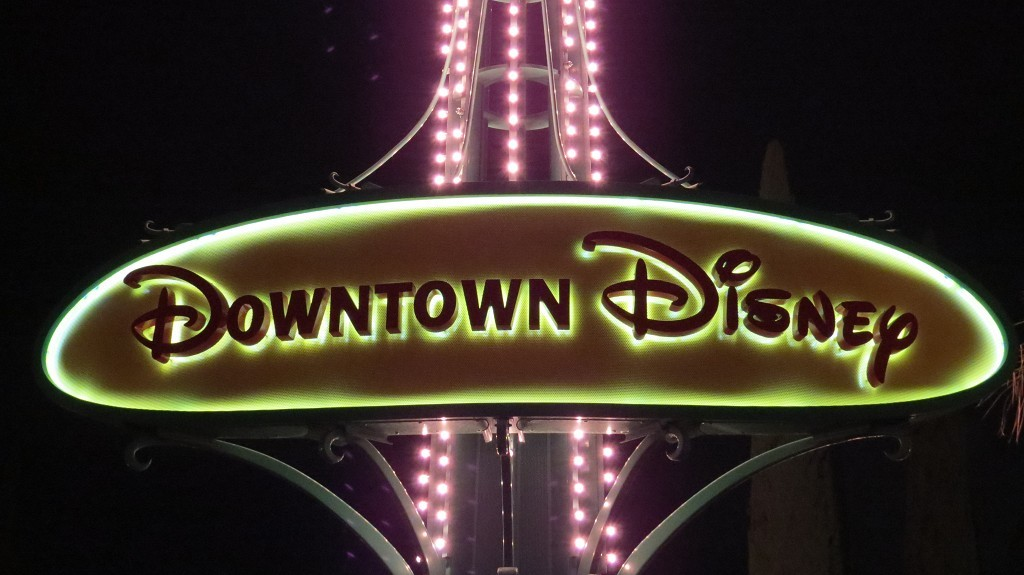 Downtown Disney in Anaheim
