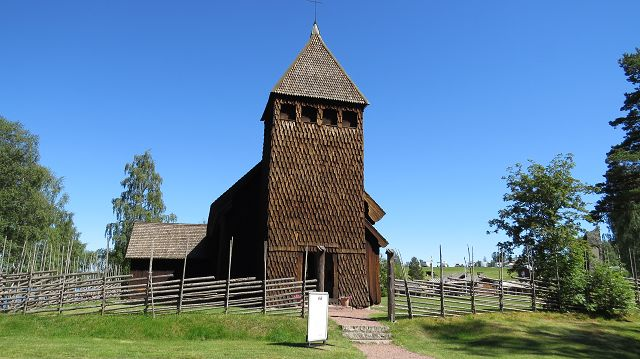Holzkirche in Särna
