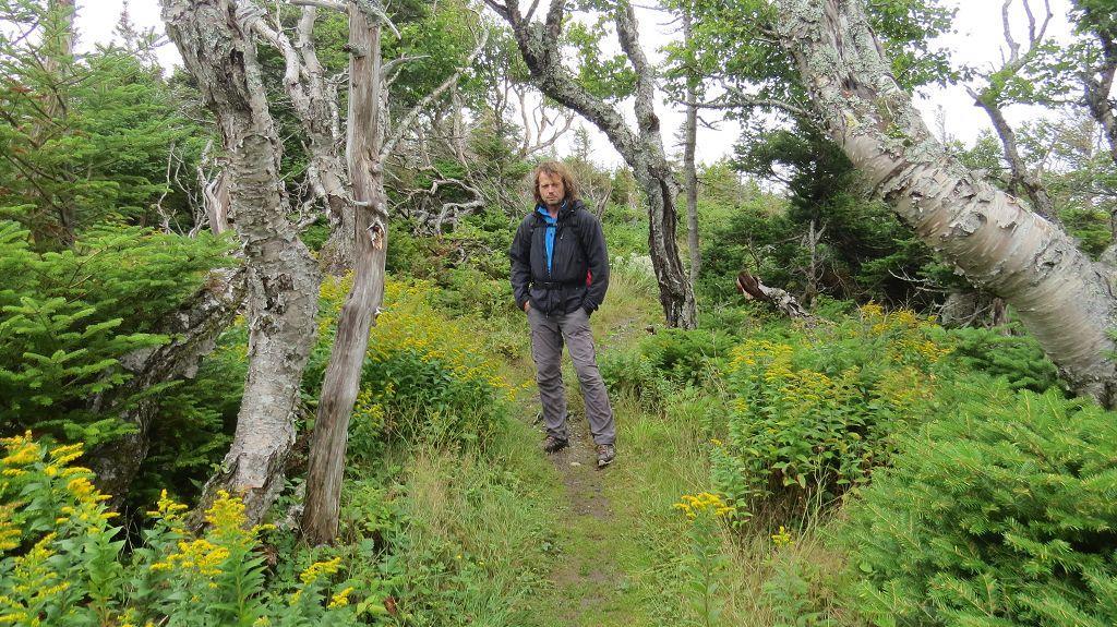 Wanderung zum Western Brook Pond...