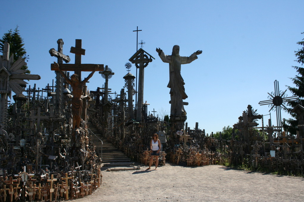 Der Berg der Kreuze,