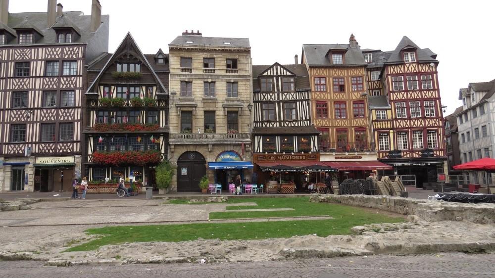 Rouen (Hier starb Jeanne d'Arc)