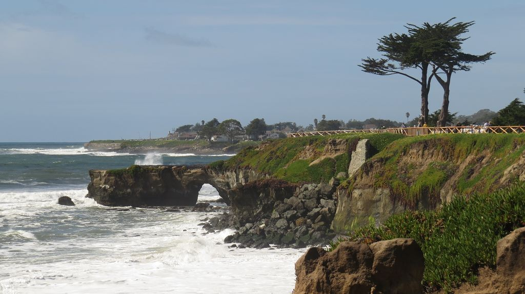Natural Bridges bei Santa Cruz