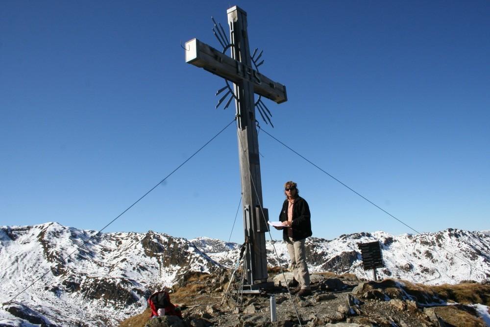 ...Gedrechten auf 2217 m