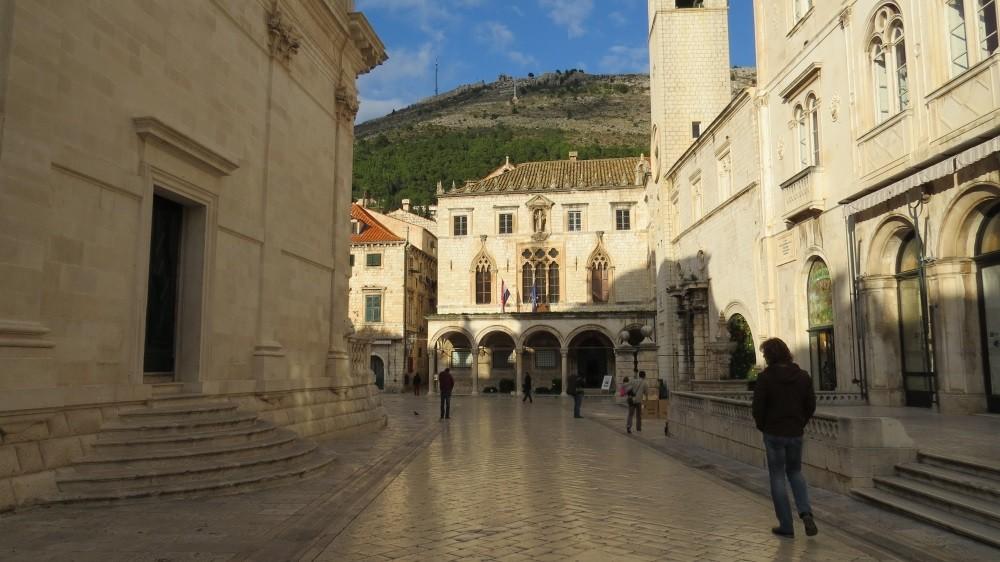 Blick zum Sponza-Palast