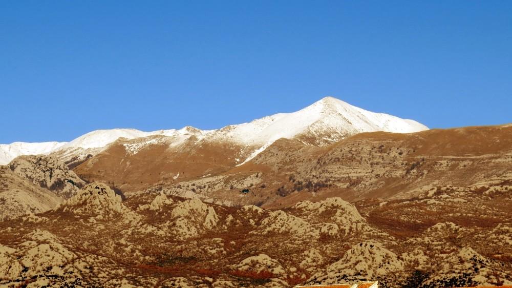 Schnee im Velebit