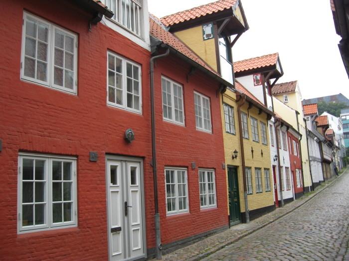 Fischergasse in Flensburg