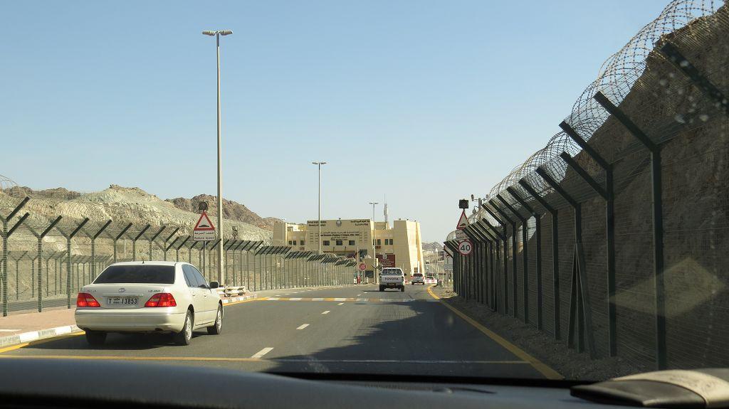 An der Grenze zu Oman