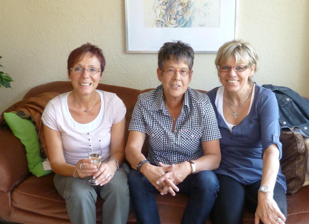 Karola's Geburtstag mit Renate und Karin