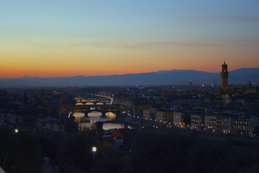 Florenz vom Piazzale Michelangelo