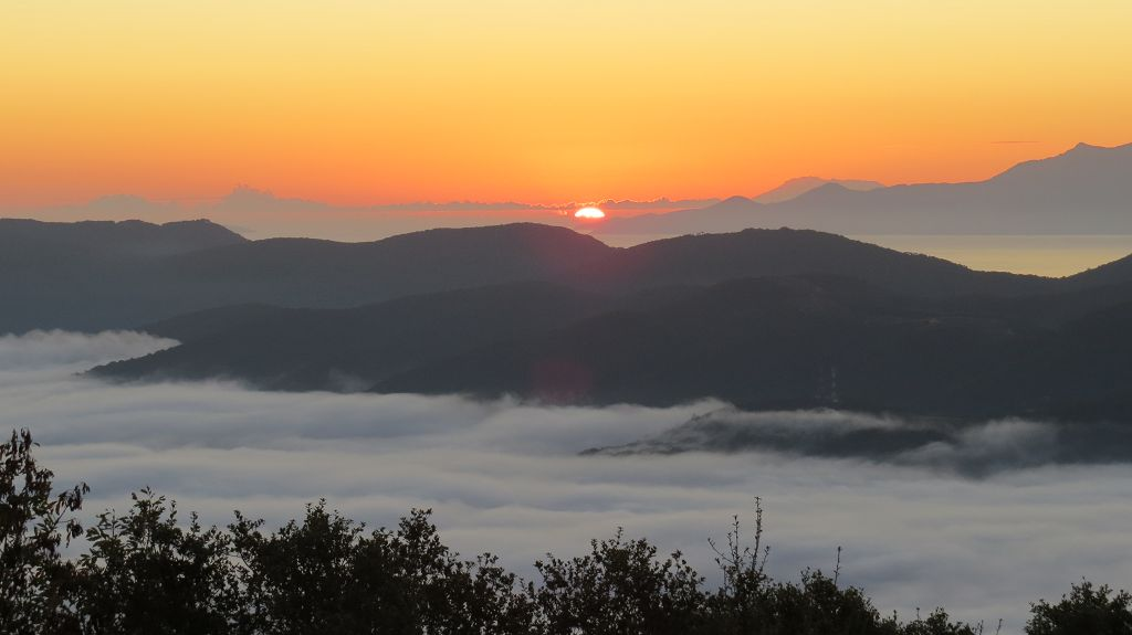 ...Sonnenaufgang und...