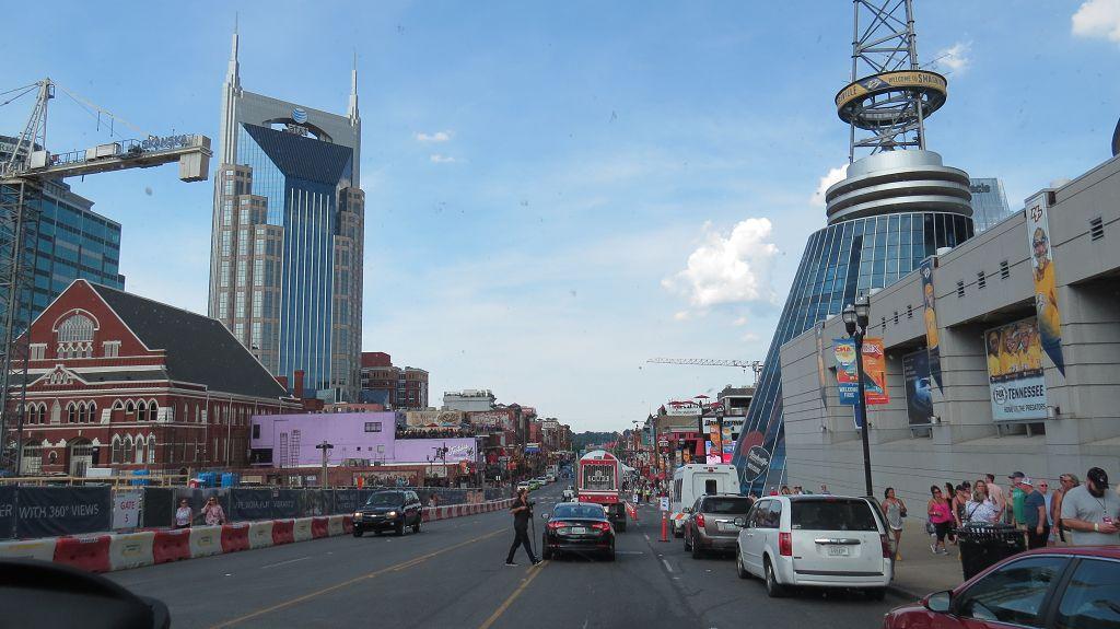 Wir erreichen Nashville