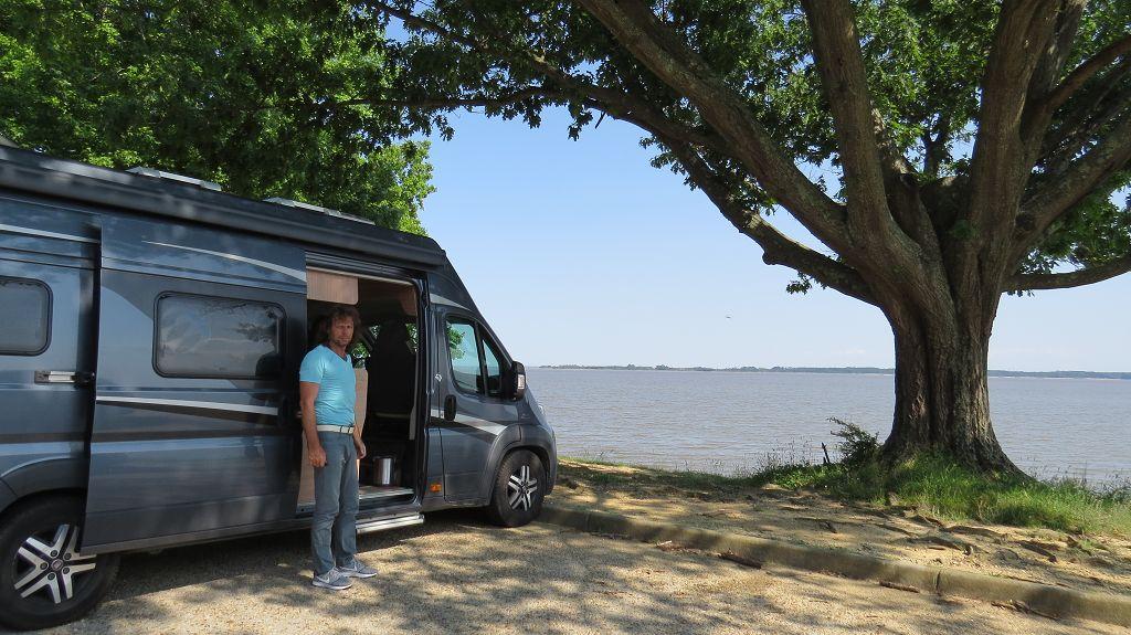 Übernachtung am James River