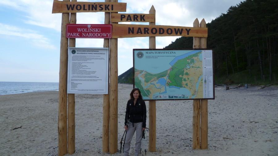 30 km Wanderung an der Küste...