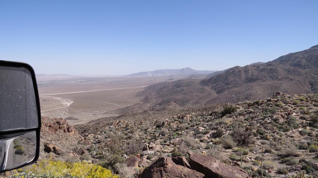 Blick nach Borrego Springs