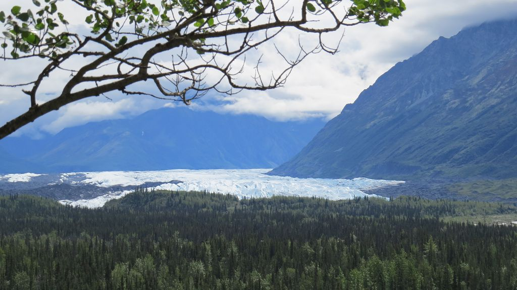 Über den Glenn-Hwy. zum Matanuska-Glacier