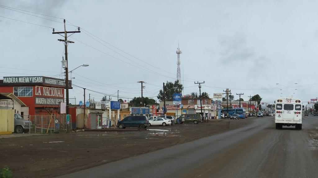 Es regnet in San Quintin