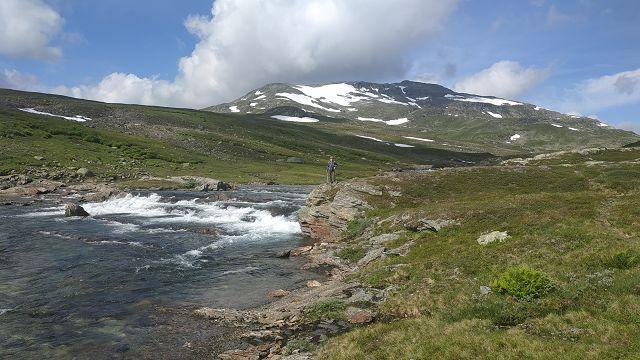 Wanderung bis zur norwegischen Grenze